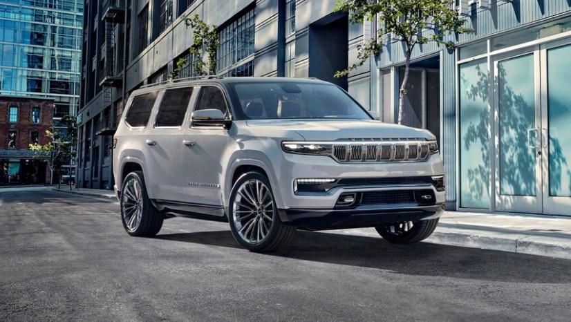 В семействе Jeep Wagoneer появятся длиннобазные версии