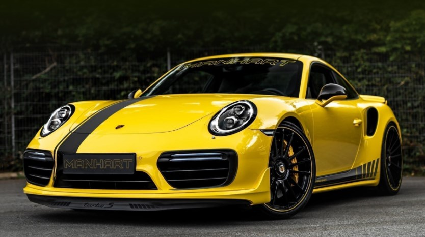 Старый Porsche 911 Turbo S прокачали до 850 л.с.