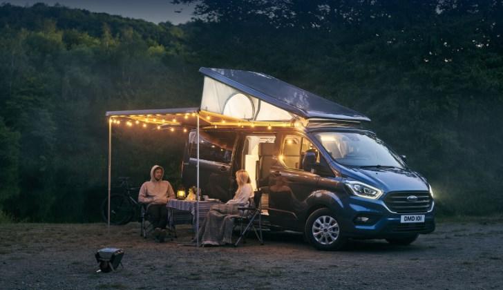 Ford Transit Nugget Plus обзавёлся подъёмной крышей