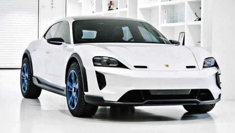 Будущие электрокары Porsche будут четырехмоторными