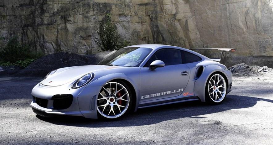 Porsche 911 превратили в 828-сильный гиперкар